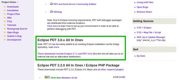 Eclipse PDT