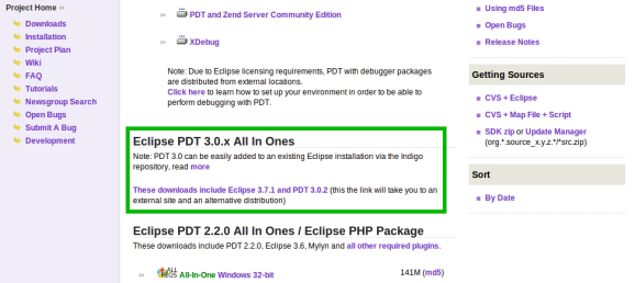 Eclipse PDT